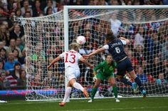 US Women's Team defeats Canada in double overtime #London2012 #Soccer #Olympics #USA