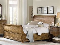 Shop the Wood Summit Four Poster Bed at Perigold, home to the design world's best furnishings for every style and space. Hooker Furniture, Furniture Sale, Quality Furniture, Bedroom Furniture, Wooden Sleigh Bed, Bedding Master Bedroom, Wood Beds, Bed Sizes
