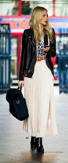 Street style - Poppy Delevigne.