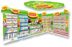 Retail Point of Purchase Design | POP Design | Toys & Games POP | Fisher Price (Design Activity)