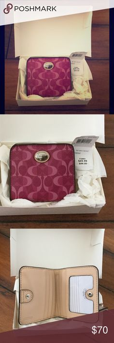 Spotted while shopping on Poshmark: Nwt in the box coach wallet! #poshmark #fashion #shopping #style #Coach #Handbags