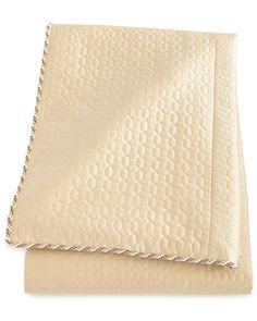 Neutral Modern King Quilted Silk Duvet Cover