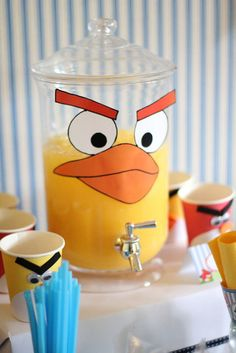 This would be perfect for our angry bird party.