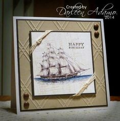 Happy Birthday, Tom by darleenstamps - Cards and Paper Crafts at Splitcoaststampers
