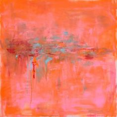 "Artist Chris Brandell; Painting, ""Convolution"""