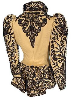 AntiqueDress.com - Museum items for Sale Goed idee ! nog wat borduurwerk te doen tegen trammelant