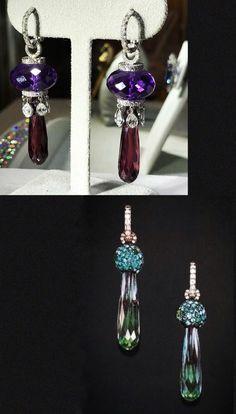 JAR briolette earrings #JewelsbyJAR #JARParis #LucDanto