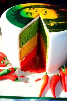 Bob Marley Cake ❤️