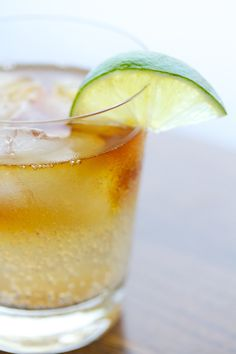 Dark and Stormy {Cocktail}