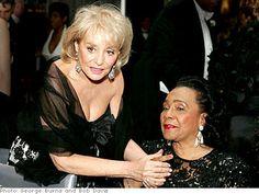 The Legends Ball - Oprah.com.  Barbara Walters and Coretta Scott King.