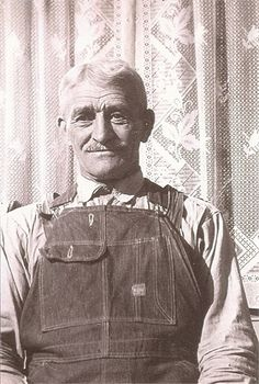 Clarence Delos Mathie, my great-grandfather. I love this picture because it is so clear.