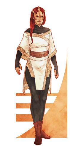 Iridonian (Zabrak) Female