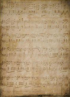 Foto: vintage ( muziek) papier . Geplaatst door Zinnib op Welke.nl