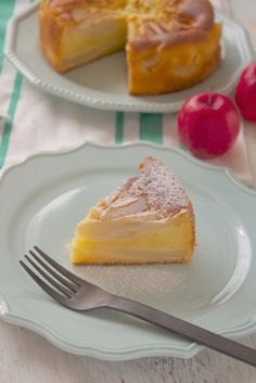 Cafe Menu, Cafe Food, Apple Cake Recipes, Sweets Recipes, Looks Yummy, Delicious Desserts, Appetizers, Food And Drink, Baking