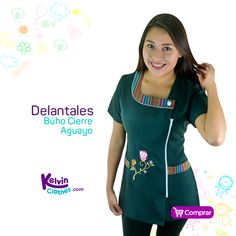 Dress Patterns, Sewing Patterns, Bandana, Scrubs, Apron, Short Sleeve Dresses, Blouse, Clothes, Women