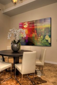 Barb, this is beautiful and the 24x36 is a great price - it could go anywhere. Sunset Canvas Wall Art by Parvez Taj on @HauteLook