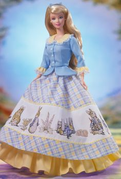 The Tale of Peter Rabbit Barbie Doll - Children's -  2002 Keepsake Treasures Collection - Barbie Collector