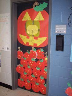 We're all aglow ... Just say no!  #red ribbon week  #classroom door decorations  #teacher  #classroom