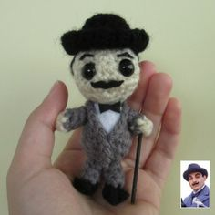 Poirot - from the Agatha Christie books!