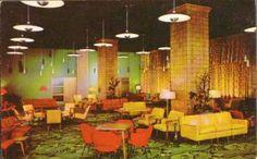 YMCA HOTEL - LOBBY - 1950s