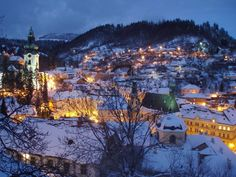 Banska Stiavnica - small mining town where my Grandparents live in Slovakia Cities In Europe, Central Europe, Europe Travel Tips, European Travel, Schengen Area, Visit Poland, Heart Of Europe, Bucket List Destinations, Medieval Town