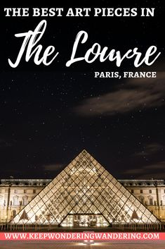 These are my 10 favorite pieces in the Louvre Museum located in Paris. This also includes some helpful tips to help you plan your own visit!