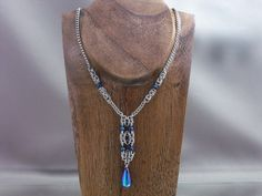 Byzantine Column Chainmail Necklace by Pharewings on deviantART
