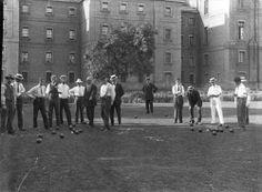 Archives of Ontario Lawn bowling at Toronto Asylum