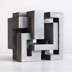 David Umemoto - Cubic Geometry ix-v Cubic Architecture, Concept Architecture, Architecture Design, Conceptual Sketches, Conceptual Design, Concrete Sculpture, Concrete Art, Geometric Drawing, Geometric Shapes