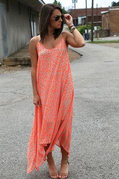 Leopard in Neon {Dress}