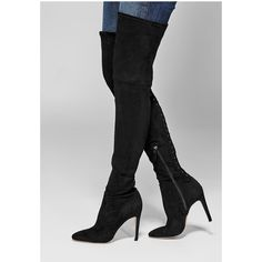 c8de9557a6c2 GUESS by Marciano Stanza Knee-High Boot (174.005 CLP) ❤ liked on Polyvore