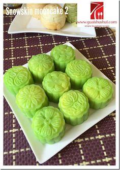 Snow Skin Mooncake without Gao Fen and Vegetable Shortening (没有白油及糕粉的冰皮月饼)   #guaishushu #kenneth_goh    #snowskin