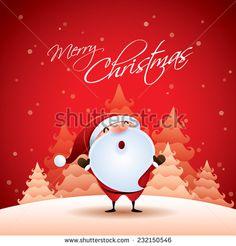 Christmas Santa Claus Ilustrações e desenhos Stock | Shutterstock