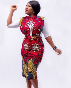 Beautiful Short Ankara Gown Styles ankara short gown styles of 2019 can never get better Latest African Fashion Dresses, African Print Dresses, African Print Fashion, Africa Fashion, African Dress, Ankara Fashion, African Prints, African Lace, African Style