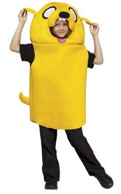 Super cute Jake the dog costume for kids