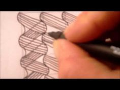 How to draw tanglepattern Pea-Nuckle
