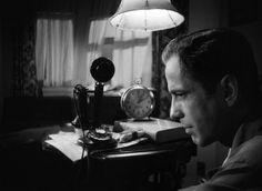 Humphrey Bogart in The Maltese Falcon  (John Huston, 1941)