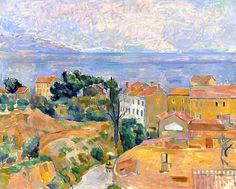 bofransson: Paul Cezanne - Blick auf L'Estaque