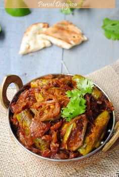 Indian food: US Masala: Parval/Patal Dopyaza. Visit india    with us and enjoy indian food