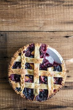 Pastry Affair | Blueberry Plum Pie
