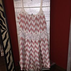 "🎉HP🎉 Marc by Marc Jacobs Silk Dress 🎉💕Host Pick ""Wardrobe Goals""💕🎉  Worn once Marc by Marc Jacobs printed dress in size 4. Dress is 100% silk. Fits true to size. Hits above the knee. It is in like new condition. Dress is cream, red, pink & blue. Absolutely gorgeous! Marc by Marc Jacobs Dresses"