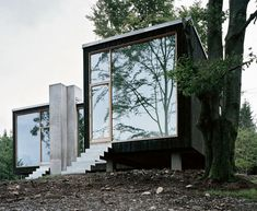 Ok, ok. ACTUAL dream house. Minimal, natural, reclaimed materials. Perfection. My Swedish escape!
