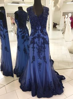 navy blue evening gowns,mermaid prom dress,mermaid evening dress,elegant #prom #promdress #dress #eveningdress #evening #fashion #love #shopping #art #dress #women #mermaid #SEXY #SexyGirl #PromDresses