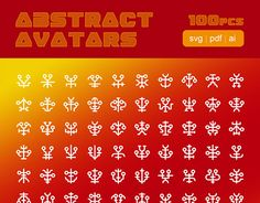 "Check out new work on my @Behance portfolio: ""Abstract Avatars - SVG symbol sprite"" http://be.net/gallery/45803347/Abstract-Avatars-SVG-symbol-sprite"