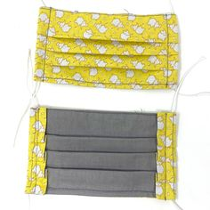 Use promo code PYPMASK4(4for $20) at checkout. One sewn face mask made from cotton fabric and interfacing, ready for use. Priced below materials plus labour cost. Assembledmasks should be laundered either by hand or in a garment bag to preserve the elastic. ***THESE MASKS ARE NOT RATED OR TESTED FOR PERFORMANCE, BUT Lining Fabric, Cotton Fabric, Mask Shop, Mask Making, Elephant, Wallet, Labour Cost, Yellow, Face