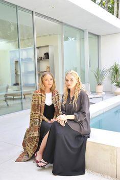 Mary-Kate and Ashley Olsen [Photo by Donato Sardella]