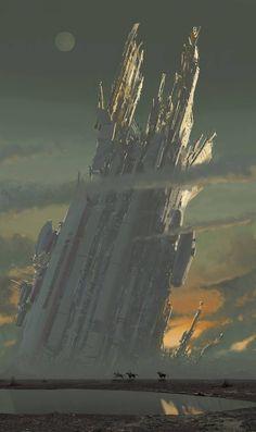 Art by Edward F. Howard. #sciencefiction #scifi