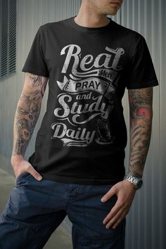 Real Men Pray & Study Daily