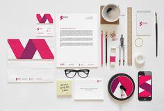 Ultimate Identity / Branding Mock-Up by Eduardo Mejia #branding #identity #ci