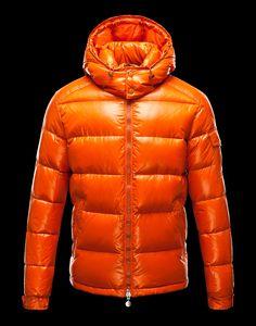 Moncler Jacke Orange